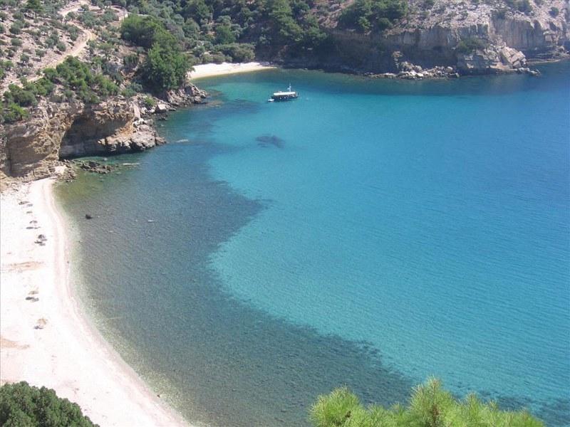 Archaggelos beach, Thassos