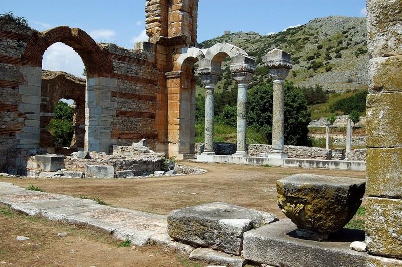 Archaeological site of Filippi, Kavala